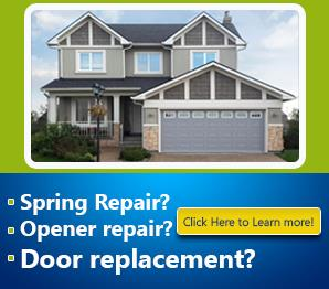 Broken Springs - Garage Door Repair Valley Center, CA